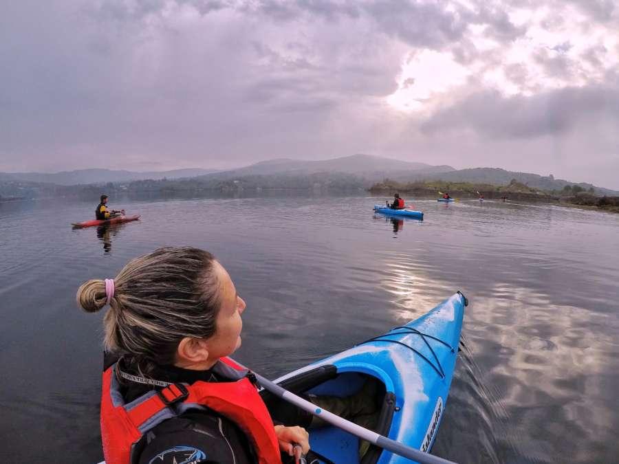 Glengarriff kayak