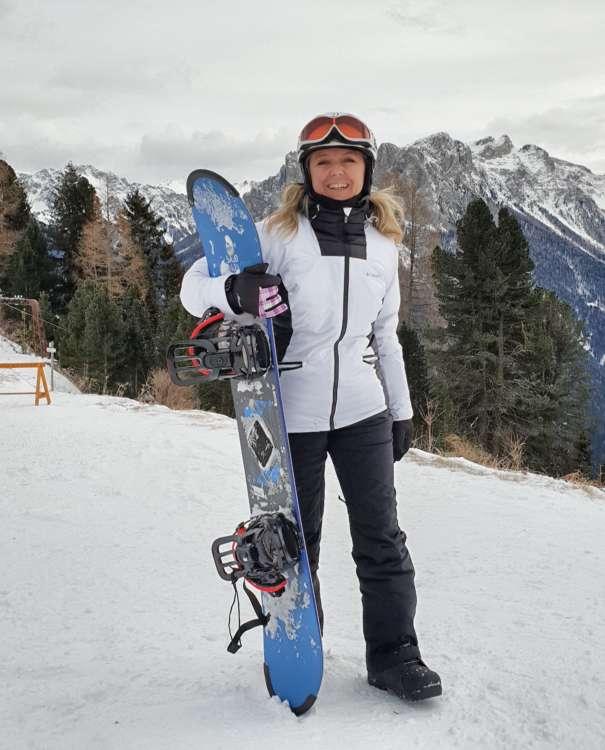 Snowboard a Ciampedie