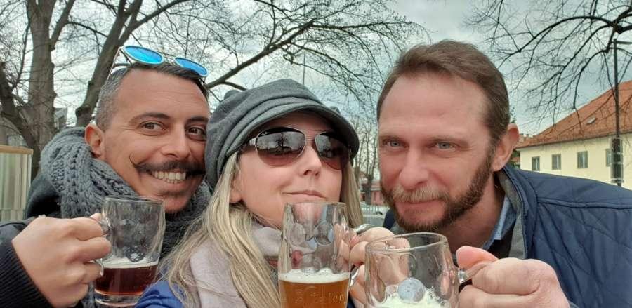 Fontana della birra a Zalec