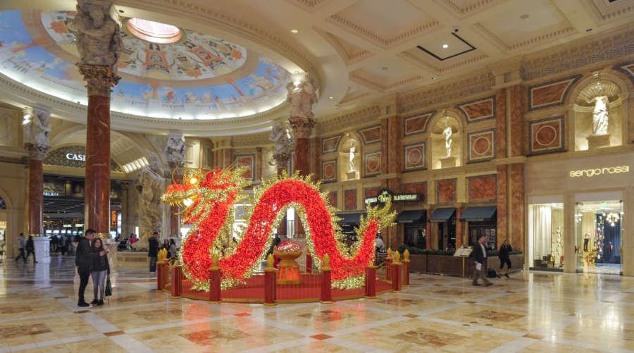 Las Vegas capodanno cinese