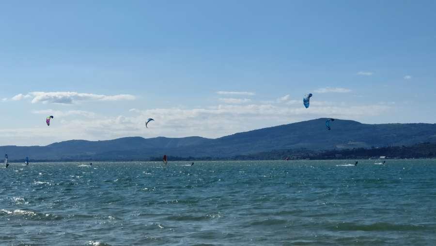 kite surf Trasimeno