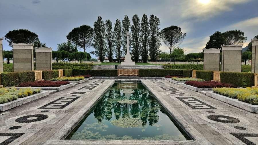 Cimitero inglese Cassino