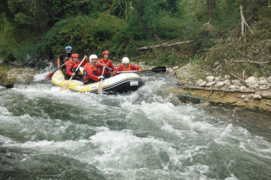 Rafting Tanagro