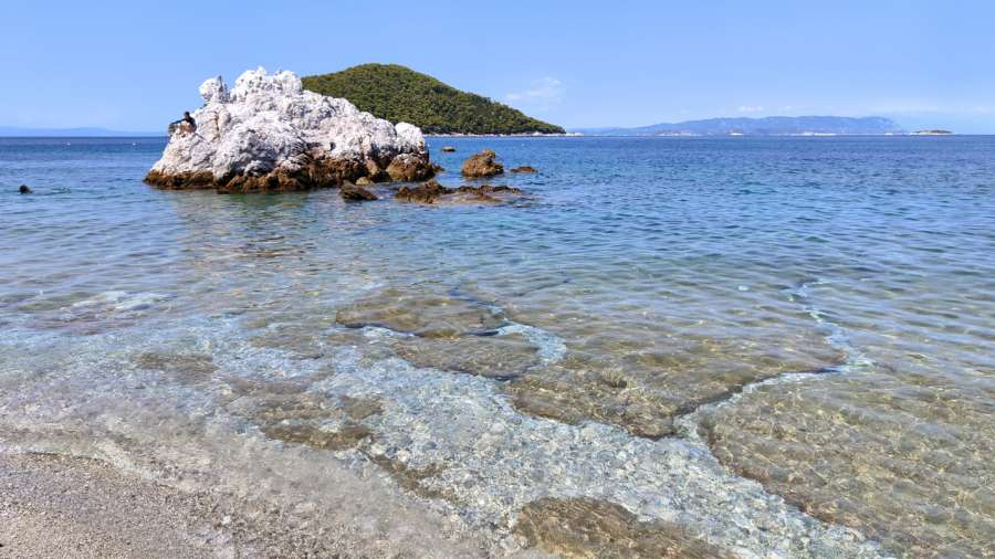 Milia beach Skopelos