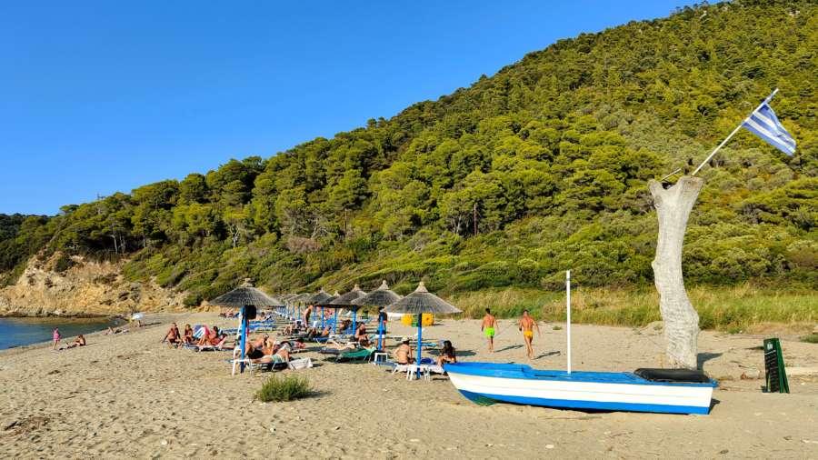 Ligaries beach