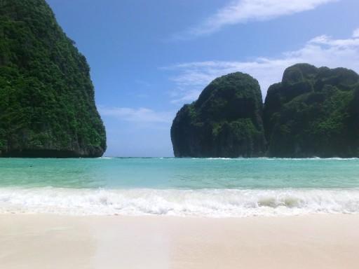 """Maya Bay, sulla spiaggia di """"The Beach"""" con Leo DiCaprio"""