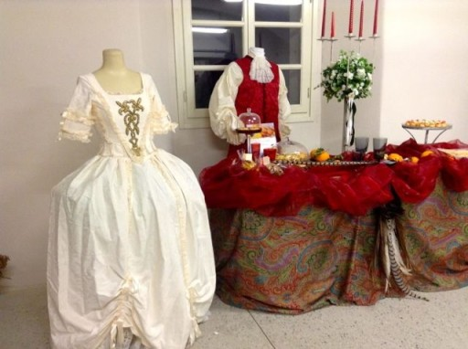 Tè e macarons con Maria Antonietta di Francia